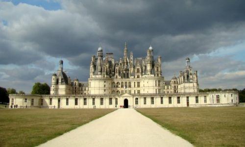 FRANCJA / Dolina Loary / Chambord / Tu mieszkał polski król-wygnaniec