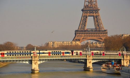 Zdjecie FRANCJA / - / Paryż / Pocztówka  z Paryża