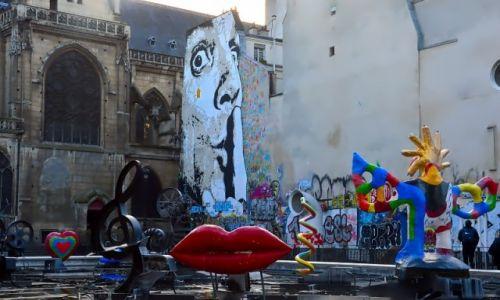 Zdjęcie FRANCJA / - / Paryż / Fontanna Strawińskiego