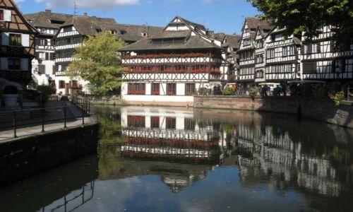Zdjęcie FRANCJA / Alzacja / Strasbourg / Petite France