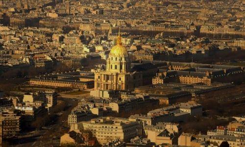 Zdjecie FRANCJA / - / Paryż / Pałac Inwalidów w Paryżu