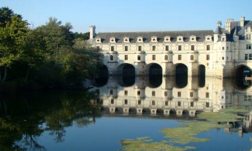 Zdjecie FRANCJA / Dolina Loary / Château de Chenonceau / Zamek Dam