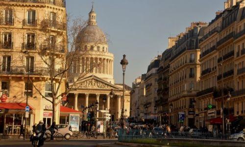 Zdjecie FRANCJA / - / Paryż / W drodze na Panteon