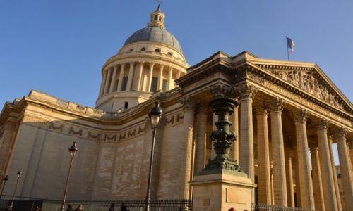 Zdjecie FRANCJA / - / Paryż / Panteon...po remoncie.