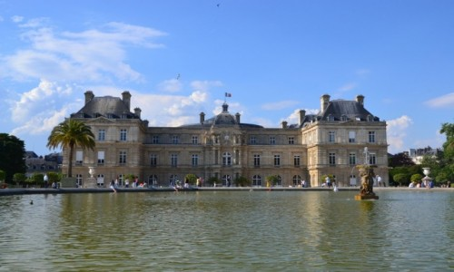 FRANCJA /  Ile-de-France  / Ogród Luksemburski / Paryż - Ogród Luksemburski