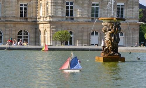 Zdjecie FRANCJA /  Ile-de-France  / Ogród Luksemburski / Paryż - Ogród Luksemburski