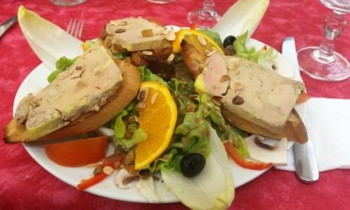 Zdjecie FRANCJA / Langwedocja / Carcassonne / Foie gras - pyc
