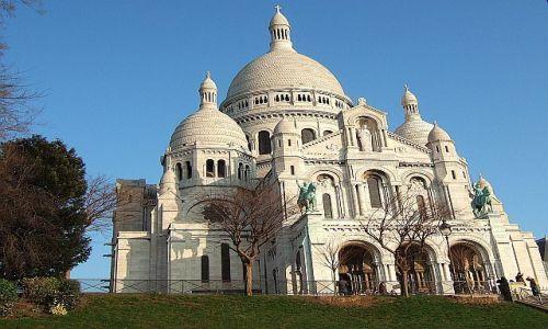 Zdjecie FRANCJA / brak / Paryż / Sacré-Coeur