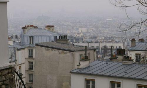 Zdjecie FRANCJA / brak / Paryż / dachy Paryża