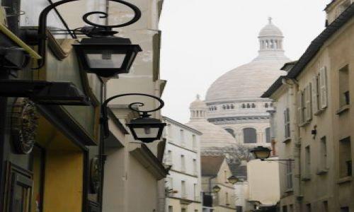 Zdjecie FRANCJA / brak / Paryż / uliczki Montmartre...