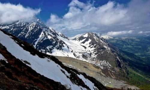 FRANCJA / Alpy Graickie / Pointe Inf�rieure du Tricot 2830 m. / Biwak na M. Lachat
