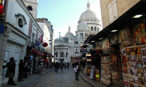 Zdjecie FRANCJA / Île-de-France / Paryż / Magiczne Montmartre