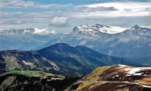 Zdjęcie FRANCJA / Alpy Graickie / Le Nid d' Aigle / Na stokach Mont Blanc