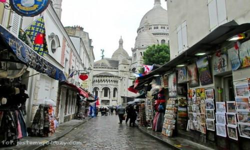 Zdjecie FRANCJA / - / Paryż / Montmarte