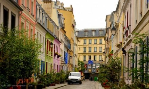 Zdjecie FRANCJA / - / Paryż / Rue Cremieux (II)