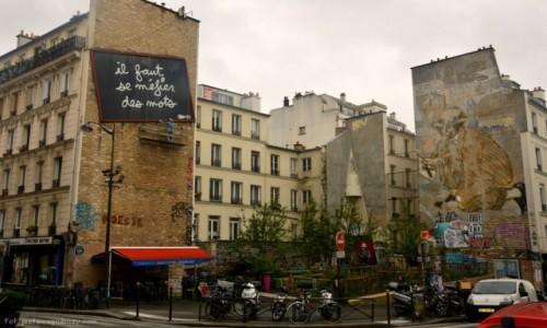 Zdjecie FRANCJA / - / Paryż / Uroki Belleville