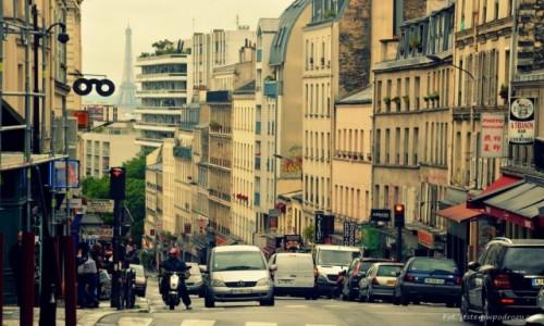 FRANCJA / - / Pary� / Rue Belleville