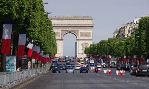 Zdjecie FRANCJA / Pary� / Avenue des Champs-�lys�es / Avenue des Cham