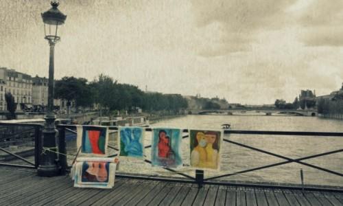 Zdjecie FRANCJA / - / Paryż / Pont des arts