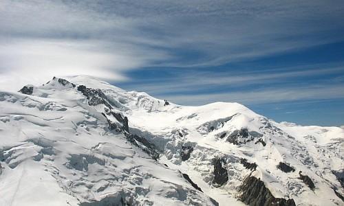Zdjęcie FRANCJA / Alpy  / Widok z Aiguille du Midi / Mont Blanc
