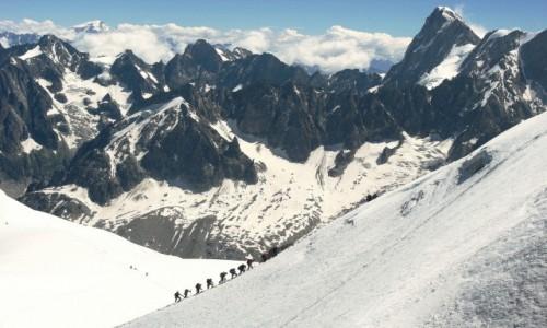 Zdjęcie FRANCJA / Alpy / Masyw Mont Blanc / Spacerkiem na Mont Blanc
