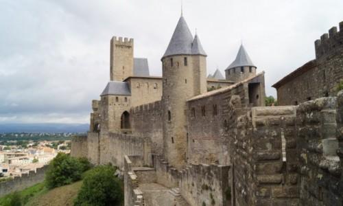 Zdjęcie FRANCJA / Langwedocja / Carcassonne / Zamek
