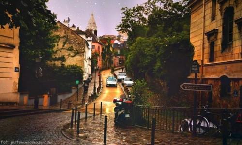 Zdjecie FRANCJA / - / Paryż / Bajkowe Montmarte...