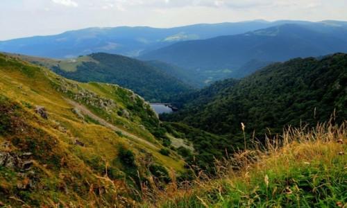 FRANCJA / Lotaryngia / w drodze na Hohneck / Vosges Mountains...