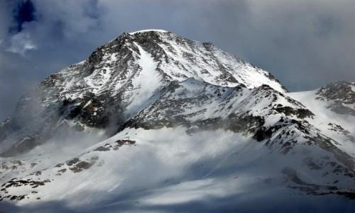 Zdjęcie FRANCJA / Alpy Graickie - masyw Mont Blanc / Desert de Pierre Ronde / Aiguille du Gouter
