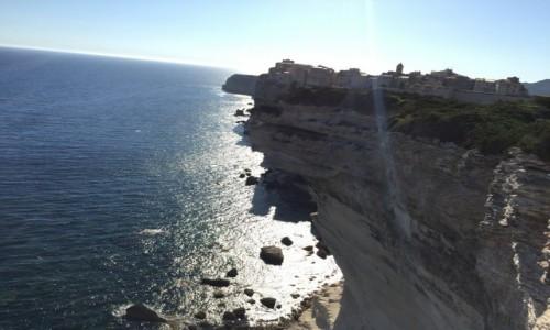 Zdjecie FRANCJA / Korsyka / Bonifaccio / Klif w Bonifaccio 2