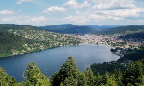 Zdjecie FRANCJA / Lotaryngia / Gerardmer / Le lac de G�rar