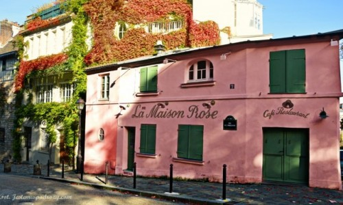 Zdjecie FRANCJA / - / Paryż / La Maison Rose Montmarte
