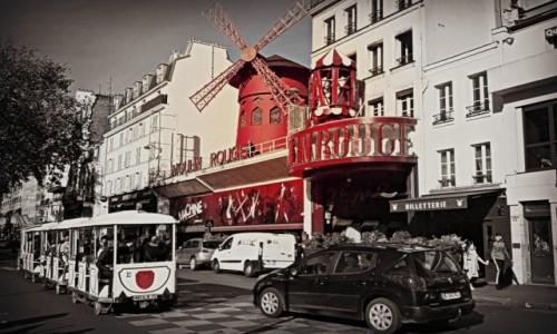 Zdjecie FRANCJA / - / Paryż / Tu narodził się kankan...