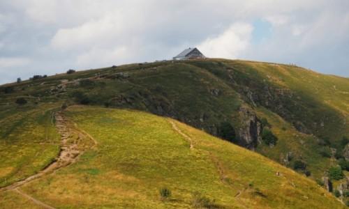 Zdjecie FRANCJA / Lotaryngia / trzeci szczyt Wogezów / Le Hohneck...