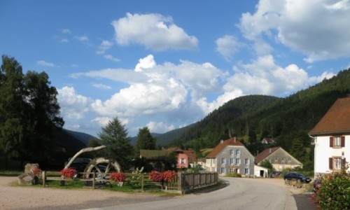 Zdjecie FRANCJA / Vosges, Lorraine / Le Valtin / w górach Lotary