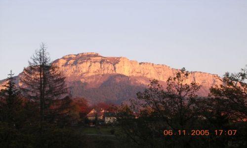 Zdjecie FRANCJA / Alpy / argonay / Wspinaczkowy raj
