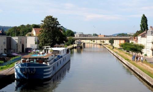 Zdjecie FRANCJA / Lotaryngia / Nancy - kanał Marna-Ren / pełen relaks:)