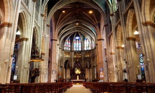 FRANCJA / Lotaryngia / Basilique Saint-Epvre de Nancy / w bazylice...