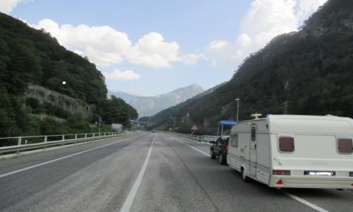 Zdjecie FRANCJA / Południe, Alpy / W drodze.... / caravaning