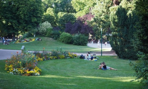 Zdjęcie FRANCJA / Lotarygia / Nancy, Parc de la Pepiniere / po prostu... niedziela:)