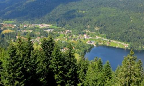 Zdjecie FRANCJA / Lotaryngia / Gerardmer / okolice jeziora Gerardmer...