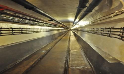 Zdjęcie FRANCJA / Alzacja / Schoenenbourg / Schoenenbourg, linia Maginota, tunel kolejki