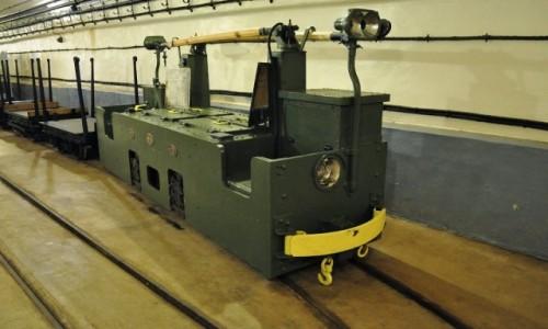Zdjęcie FRANCJA / Alzacja / Schoenenbourg / Schoenenbourg, linia Maginota, pociąg