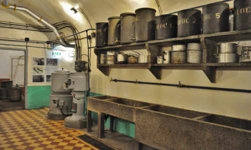 Zdjęcie FRANCJA / Alzacja / Schoenenbourg / Schoenenbourg, linia Maginota, kuchnia