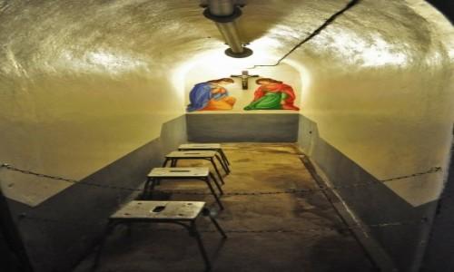 Zdjęcie FRANCJA / Alzacja / Schoenenbourg / Schoenenbourg, linia Maginota, kaplica