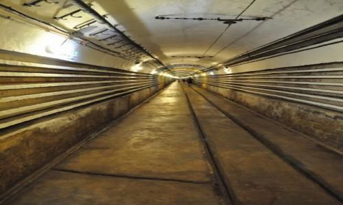 Zdjęcie FRANCJA / Alzacja / Schoenenbourg / Schoenenbourg, linia Maginota, tunel długości 1 km.