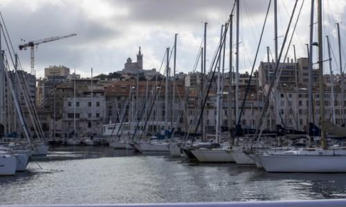 Zdjecie FRANCJA / - / Marsylia / stary port w Ma