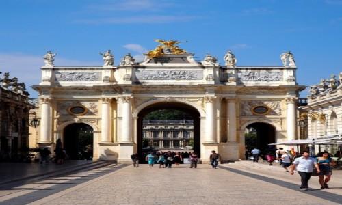 FRANCJA / Lotaryngia / Arc Héré - Nancy / klasycznie...