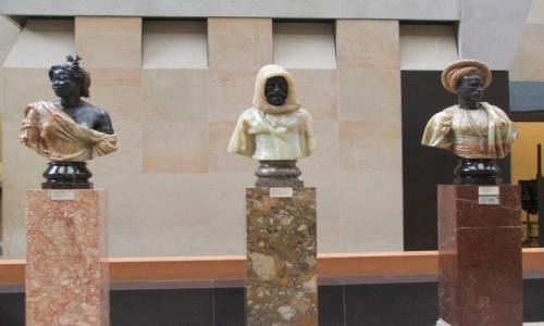 Zdjecie FRANCJA / Paryż / Muzeum d'Orsay / Trzy biusty &#8
