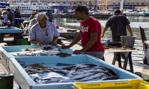 Zdjecie FRANCJA / - / Marsylia / targ rybny w st